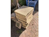 GONE /- 18 x flagstones Free to collect