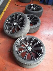"Bmw alloys wheels 19"" 5x120"