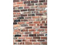 Reclaimed Bricks - 25p per brick - 200 available from 150 year old cottage