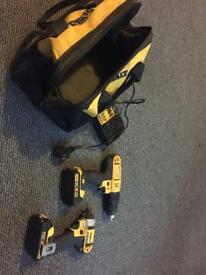 Dewalt 18v drill and impact driver