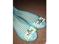 Flat dolly shoes