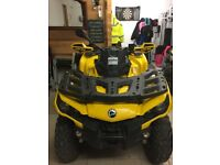 Can-am Outlander Max 500 XT - Cheap Quad - Full Service History - Excellent Condition - Extras