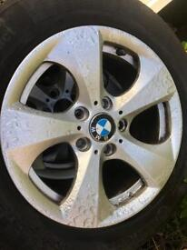 "Bmw 2014 3 series 16"" alloy wheels and good tyres"