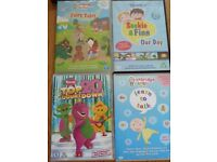 DVD Bundle 5 DVDs – Oxbridge Baby, Learning to Talk, Barney and Fireman Sam