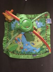 Rainforest baby play mat fisher price