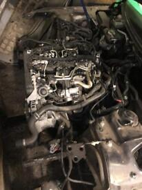 Audi A5 Quattro complete engine and gearbox auto