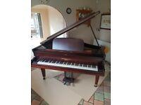 Restored John Broadwood & Sons Baby Grand Piano