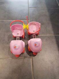 Peppa pig roller skates