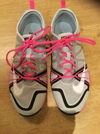 Ladies Nike free cross complete trainers size 5