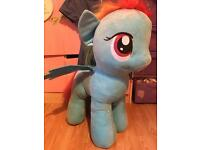 Huge my little pony toy