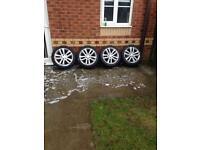 Vauxhall 17inch alloy wheels