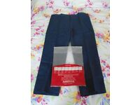 Work Trousers by Harpoon. Waist 112cm/44in - 30in Leg. New Old Stock.
