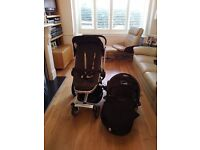 Quinny Dreami Pram and Pushchair 3 or 4 wheels, All Accessories, Excellent Condition