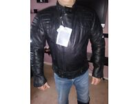 Leather bikers jacket brand new