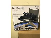 Byron Security CCTV Colour Camera Security System DVR500SET