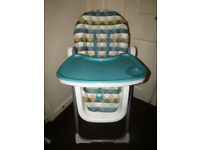 Baby Mamas & Papas Foldable Feeding High Chair