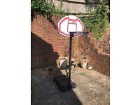 Kids Basketball Adjustable Hoop and Backboard