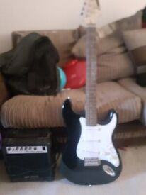 acoustic solutions electric guitar and amp
