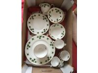 Ivy Leaf Fine Bone China set for sale