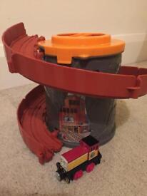Thomas and friends track and train set