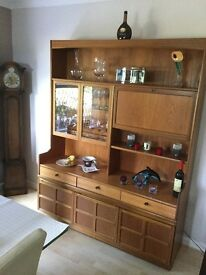 Dining Room unit with display cupboards