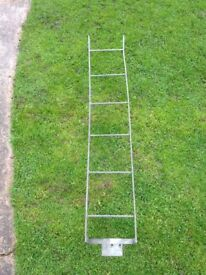 land rover defender or series roof rack ladder