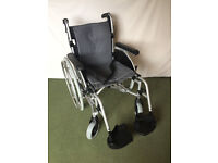 Roma Orbit 1300 Self Propel Wheelchair and memory foam cushion - As new