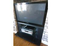 42 inch TV with 3D Blue Ray dvd player