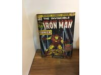 Large Iron Man Canvas
