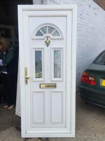 U P V C door and frame