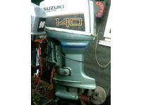 SUZUKI 140HP OIL INJECTION P.T.T LO/SH