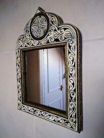 Beautiful inlay mirror
