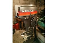 Mariner 40 HP Outboard 2 Stroke