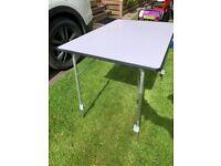 Camping/Caravan Table. Folding,Height adjustable