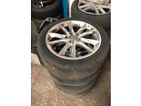"""AUDI A3 8V 17"""" ALLOY WHEELS WITH TYRES"""