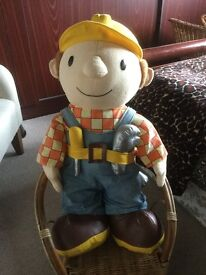 Very Large Bob The Builder Soft Toy