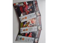 Various Manchester united programes