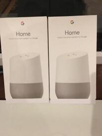 Google home for sale brand new in box