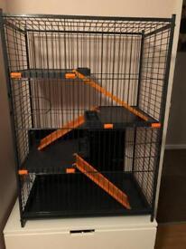 Zolux cage chinchilla/ferret/rar Orange