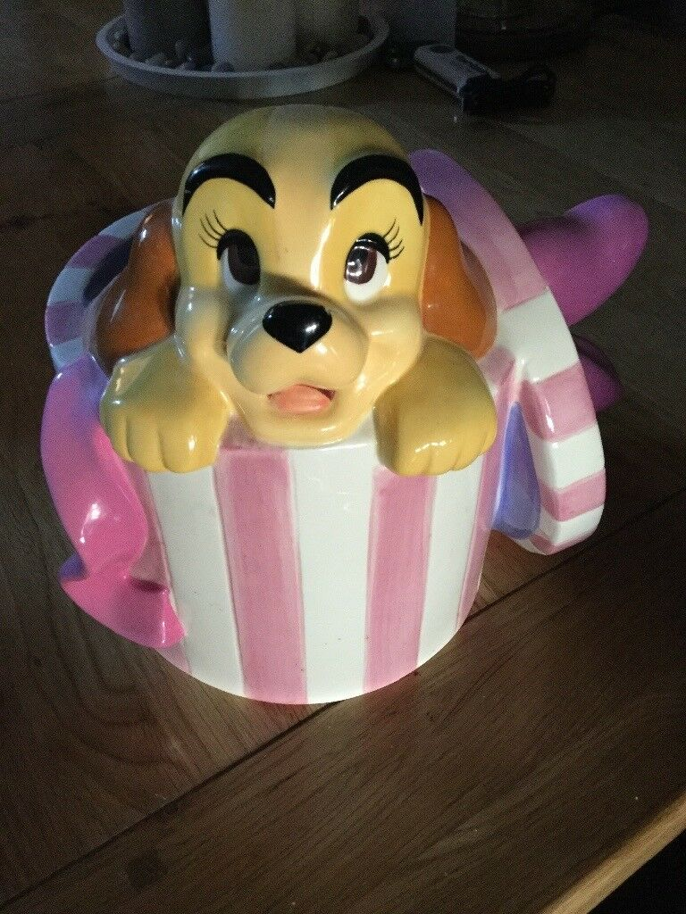 Rare lady and the tramp money box