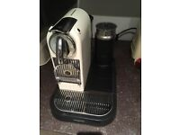 Cream Nespresso Coffee Machine