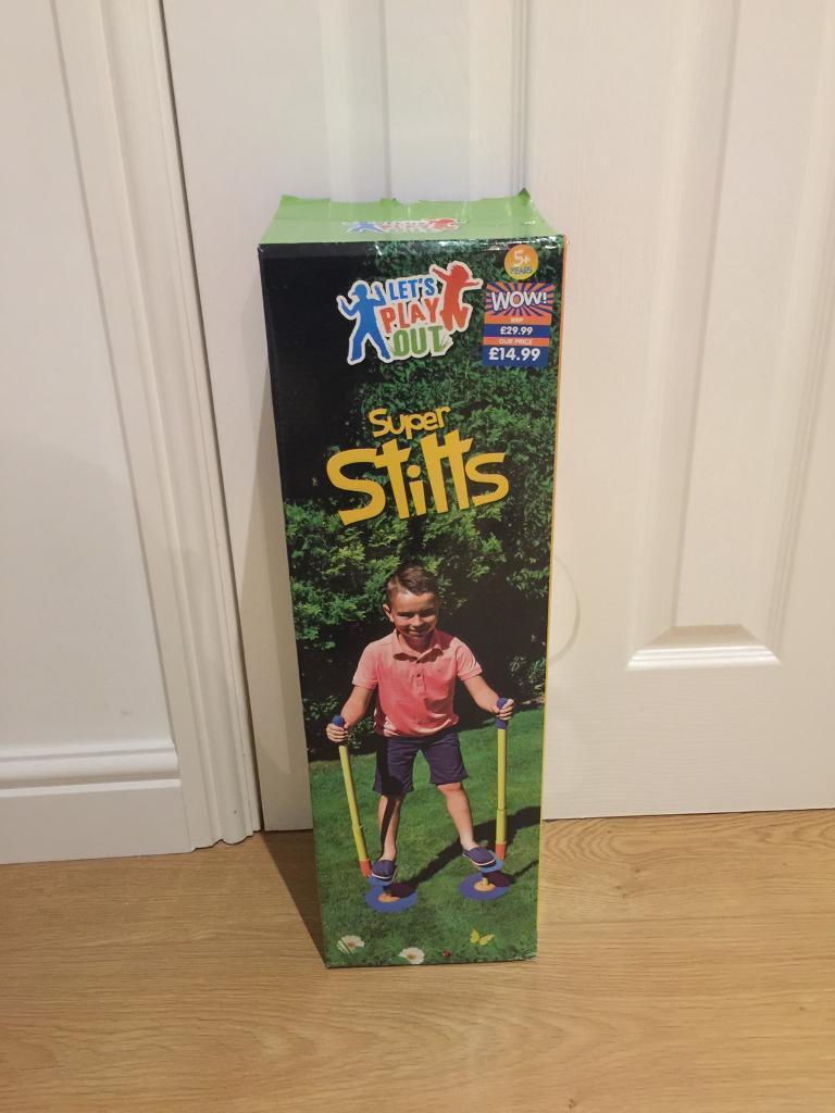 Brand new in box stilts