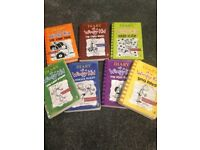 Children's books Diary of a Wimpy Kid
