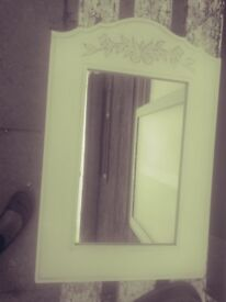 Mirror £5 . 23 INCHES HIGH X 16 INCHES WIDE