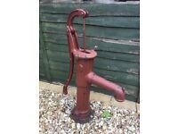Vintage ornamental water pump