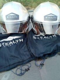 STEALTH MOTORBIKE HELMETS