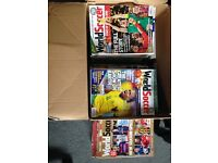 World Soccer Magazine Collection from October 2002 - August 2015