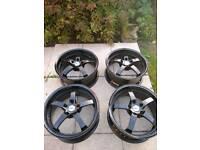 ZCW 18 inch Deep Dish alloys 5x112