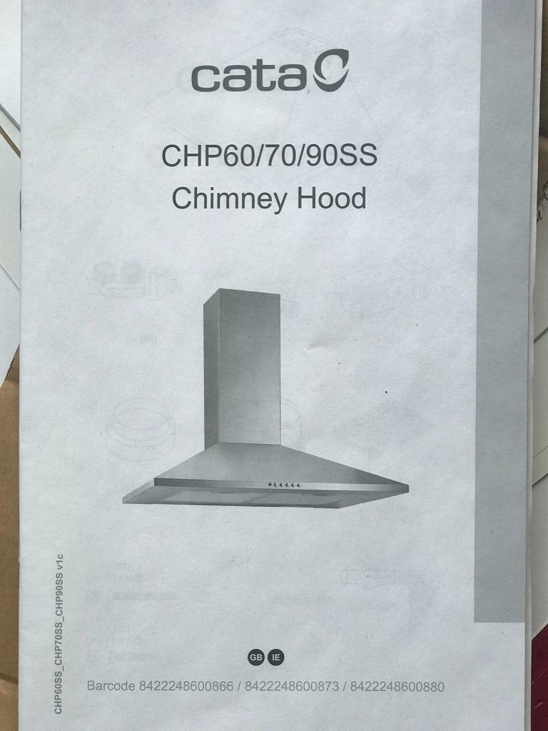 Stainless steel brand new in box cooker hood