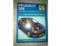 Peugeot 206 service and repair manual